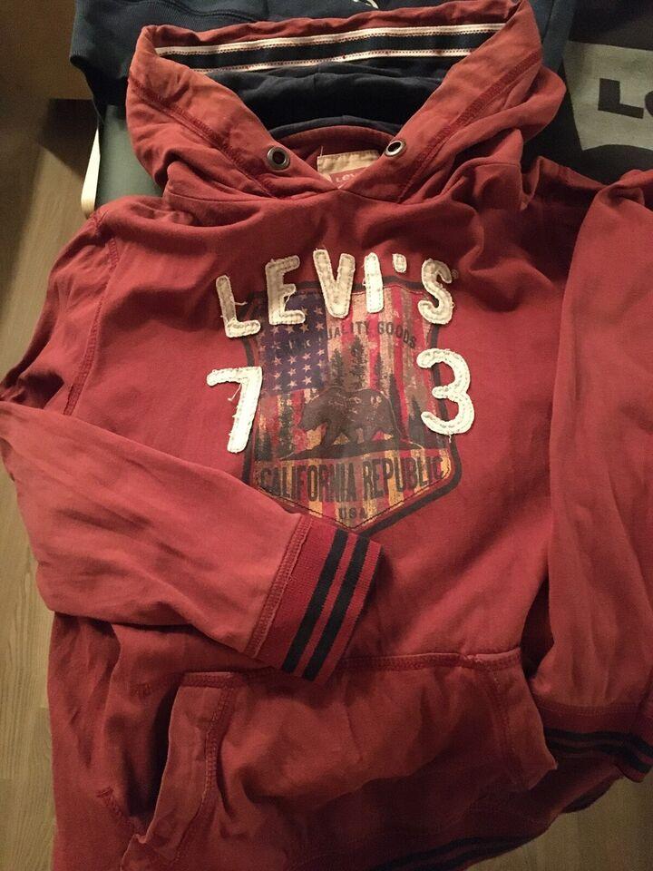 Hættetrøje, 2 stk hættetrøje, 1 stk sweatshirt