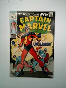 Captain-Marvel-17-1969-1st-full-appearance-of-new-Captain-Marvel-Gil-Kane-BEAUTY