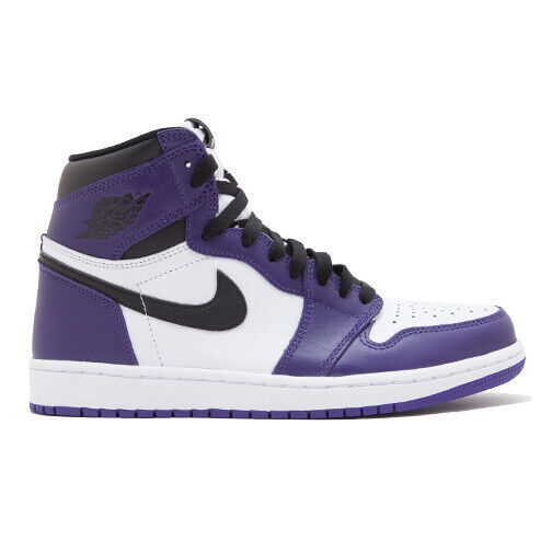 Size 8 - Jordan 1 Retro High OG Court Purple 2.0 2020 for sale ...