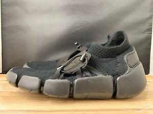 f3d66fa075a0 Nike Men s Footscape Flyknit DM Triple Black AO2611-003 Running ...