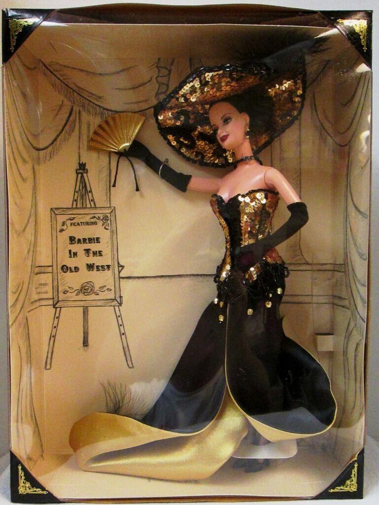 Barbie en el viejo oeste 2000 muñeca Barbie de convención Recuerdo Nacional (nuevo)