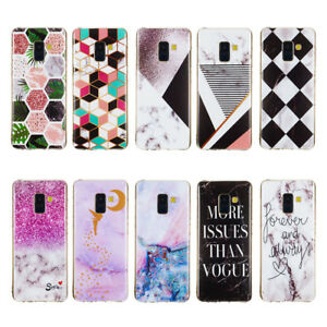 Marble-TPU-Phone-case-for-Sony-XZ3-LG-G7-Nokia-7-1-Motorola-G6-PLay-Back-Cover