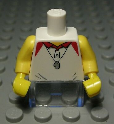 Lego Figur Zubehör Oberteil Weiss mit Dekor 2662 EP