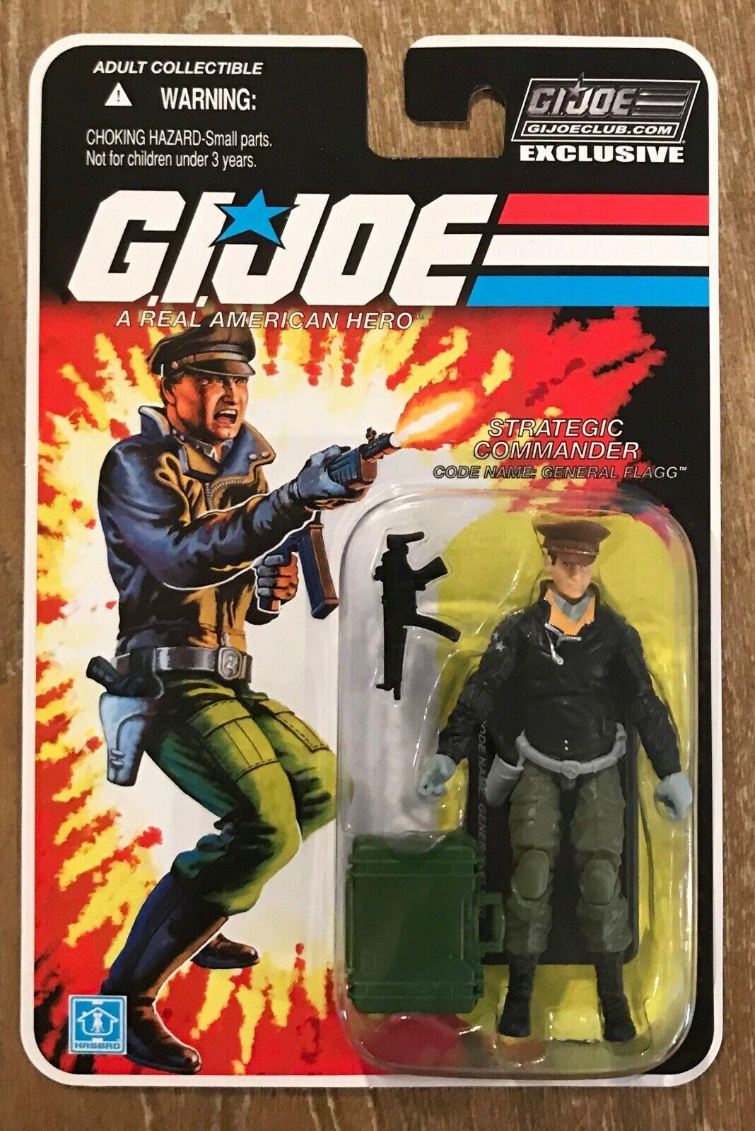 G.I. Joe FSS 5.0 General Flagg MOC RARE GI Joe Collector's Club