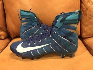 700e42593b07 Nike Vapor Untouchable 3 Elite Cleats Blue White AH7409-414 Men's 12 ...