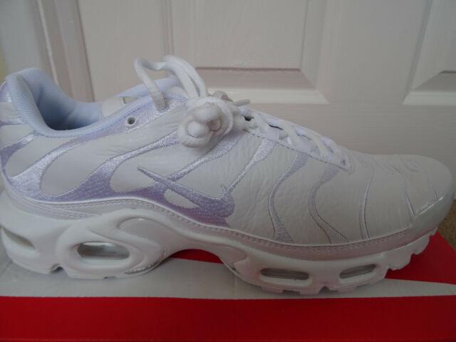 Nike Air Max TN Plus Triple White Size