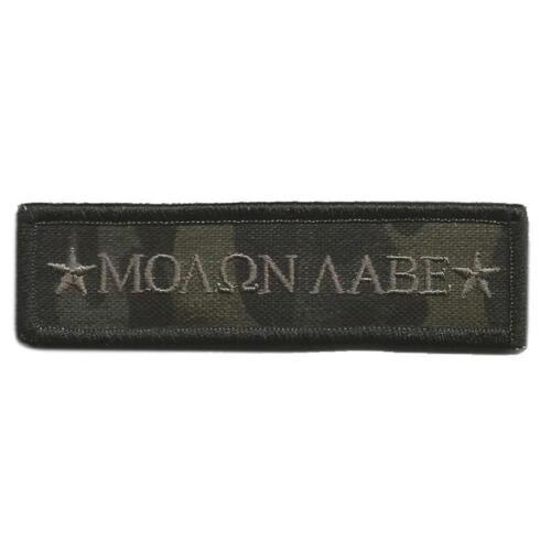 """VELCRO® BRAND Hook Fastener Compatible Multicam Black MOLON LABE Morale 3.75x1/"""""""