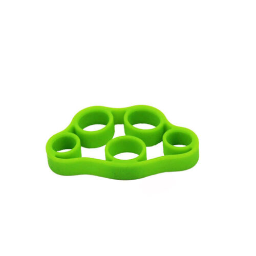 Silicone Hand Finger Exerciser Extensor Resistance Bands Hand Trainer Strength