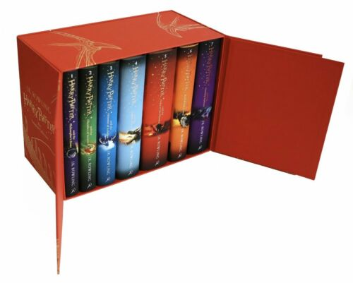 Harry Potter Complete Collection 7 Books Set Collection J.K.Rowling y7A