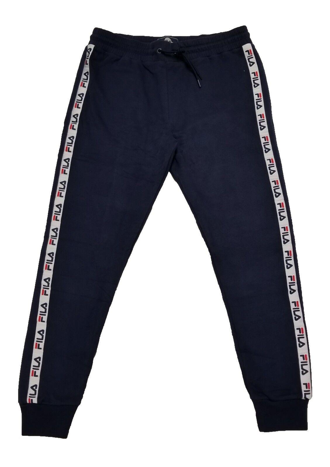 Fila Women's DEE FLEECE JOGGER Pants Peacoat LW171YD6-410 b