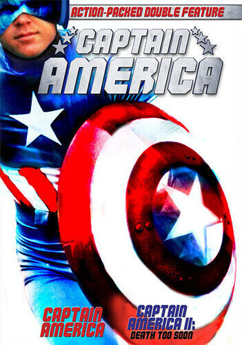 Captain America 1979 / Captain America II Death Too Soon 1979 Reb Brown, L - $7.98