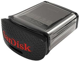SanDisk Ultra Fit 16 GB USB 3.0 Flash Drive SDCZ43 16GB