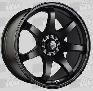 HR-556-18x8-5-wheels-5-100-amp-5-114-3-45p-to-suit-WRX-Toyota-86-Mazda-3-amp-6-blk