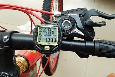 CEAU Bike Bicycle Cycling Wireless LCD Computer Odometer Speedometer Waterproof