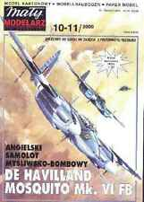 Maly Modelarz 10-11/00 britischer Mehrzweckflugzeug de Havilland Mosquito   1:33