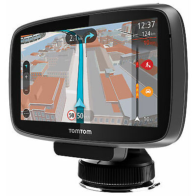 TomTom GO 600 Navigationssystem XXXL Free liftime Maps HD Traffic via Smartphone