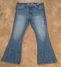 NWT American Eagle AE Boho Artist Jeans, Size 10 Regular, Stretch