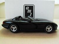 1993 Dodge Viper RT 10 ERTL 1 25 Promo Promotional Model Car 6128 Black Toys