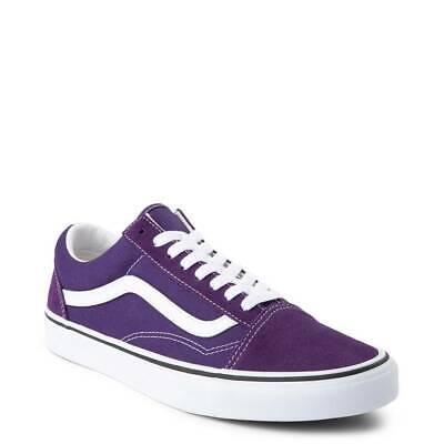 Vans Old Skool Skate Schuhe Violett Indigo Weiß Schuhe Herren Neu | eBay