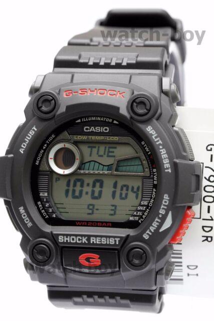 39155a70d65 G-7900-1 Black Casio Men s Watches G-Shock Mineral Glass Digital 200m