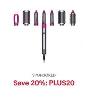 Dyson Airwrap Complete Styler multi hair types & styles Refurb, 20% off: PLUS20