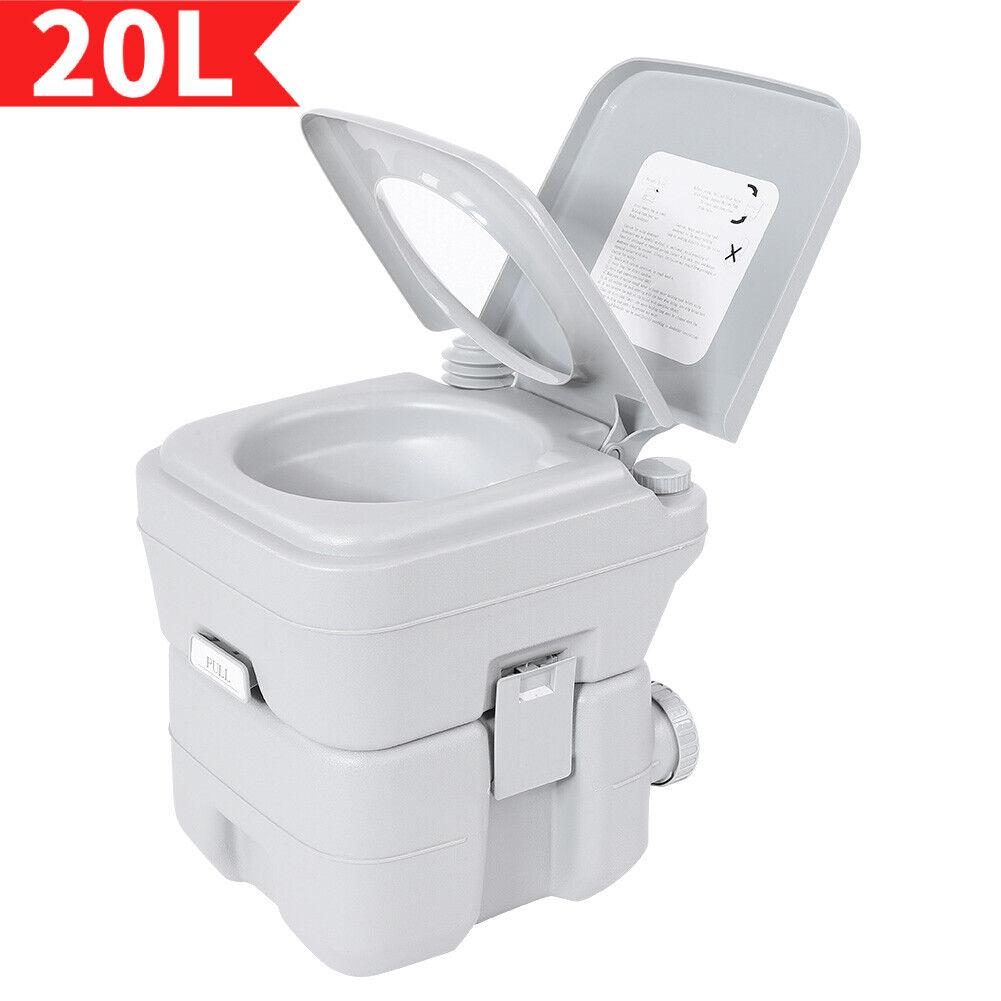 Campingtoilette Chemietoilette Mobil WC Wohnmobil Caravan Reise Klo Toilette NEU