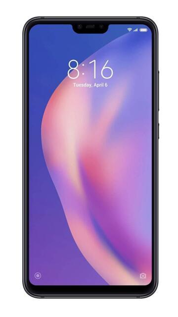 Xiaomi Mi 8 Lite Smartphone da 64 Gb, Black Nero Versione Global Gar. 24 MESI