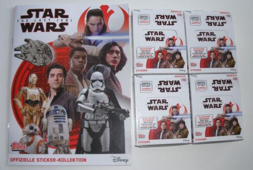 TOPPS Die letzten Jedi Sticker 47 Star Wars