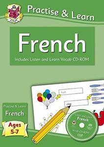 practica-amp-Learn-frances-Edades-5-7-con-VOCAB-CD-ROM-Por-Richard-Parsons