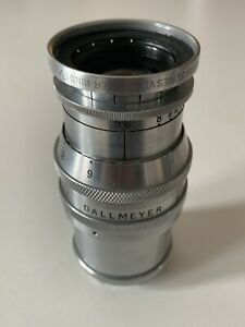 Vintage-Dallmeyer-6-inch-F-5-6-Dallon-Tele-Anastigmat-229107-W-Kodak-Adapter