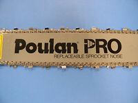 Poulan Chainsaw 4004 455 525 655 18 Bar And Chain Combo 3/8 Fits Others