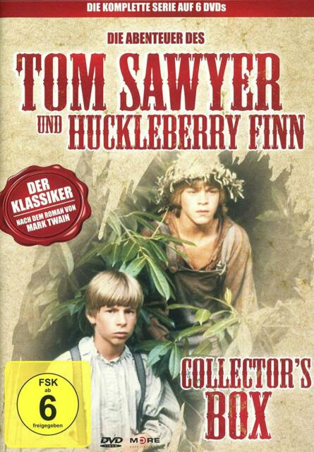 COLLECTOR'S BOX - TOM SAWYER & HUCKLEBERRY FINN  6 DVD NEUF