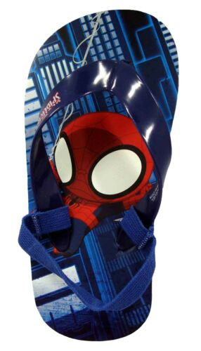 Sandals for children /& kids Spiderman Boys Flip Flops