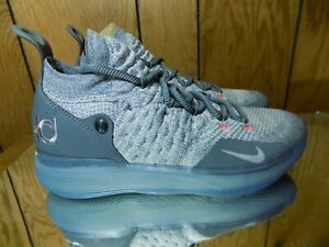 962858ddb3d0 NIKE AIR ZOOM KEVIN DURANT KD11 Cool Grey AO2604-002 Size 9 ...
