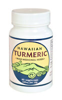 Hawaiian Turmeric 400mg 60 Veggie Caps By Maui Medicinal Herbs