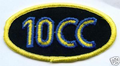 10cc écusson patch pièce de collection HOTLEGS X