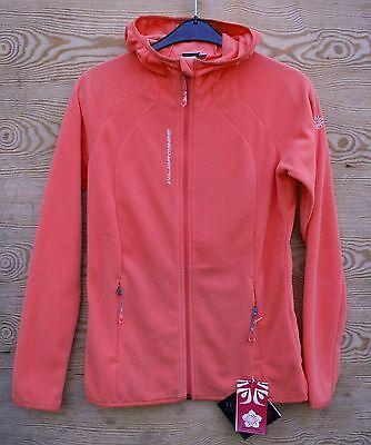 Wild Roses Fleece Jacke Cerro Hood Jacket mit Kapuze | eBay