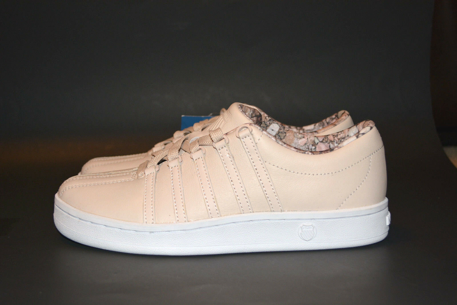 K-SWISS Women's Classic 88 Athletic Pink Tint/White/Dusty Aqua Size 6.5