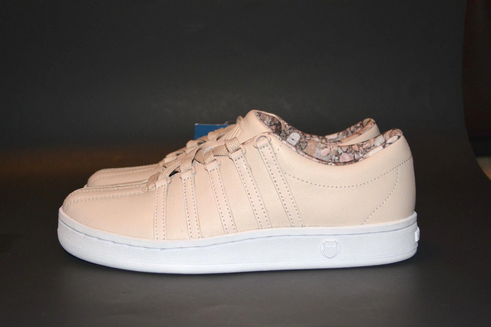 K-SWISS Women's Classic 88 Athletic Pink Tint White Dusty Aqua Size 6.5