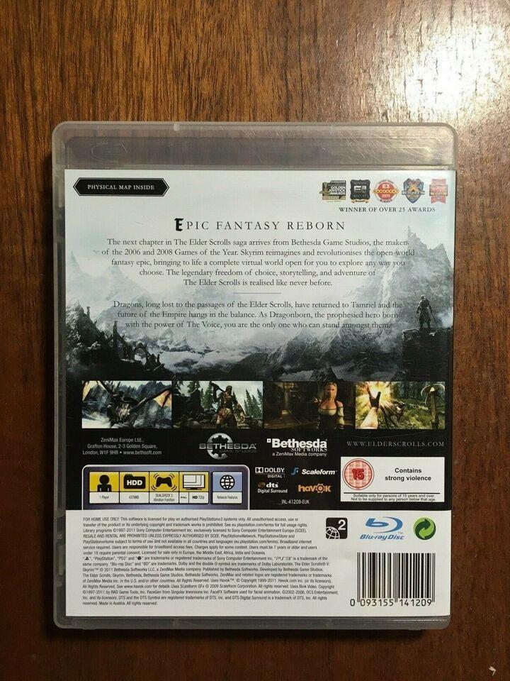 Skyrim, PS3, anden genre