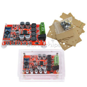 TDA7492P-Bluetooth-4-0-2X-Audio-50-W-Recepteur-Amplificateur-Recepteur-board-with-Case