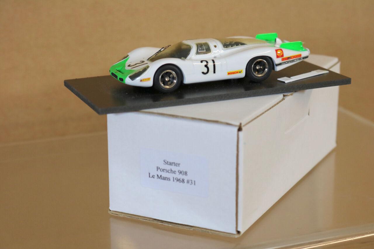 STARTER MODELS Le MANS 1968 PORSCHE 908 SHELL CAR 31 Siffert Herrmann ng
