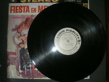 "Latin LP Mariachi Miguel Dias ""Fiesta En Mexico"" Audio Fidelity SHRINK WRAP VG+"