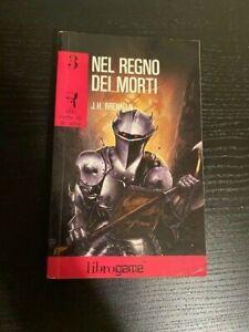 Libro Librogame nel regno dei Morti J.H. Brennan E. Elle S.R.L. 1990 Trieste