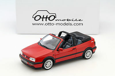 Volkswagen VW Golf 3 Cabriolet Sport Edition rot 1:18 OttOmobile
