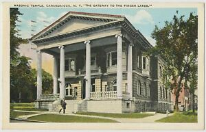 Masonic Temple, Canandaigua, New York 1930