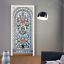 3D-Self-Adhesive-Stained-Glass-Window-Living-Room-Door-Murals-Wall-Sticker-Decal thumbnail 3