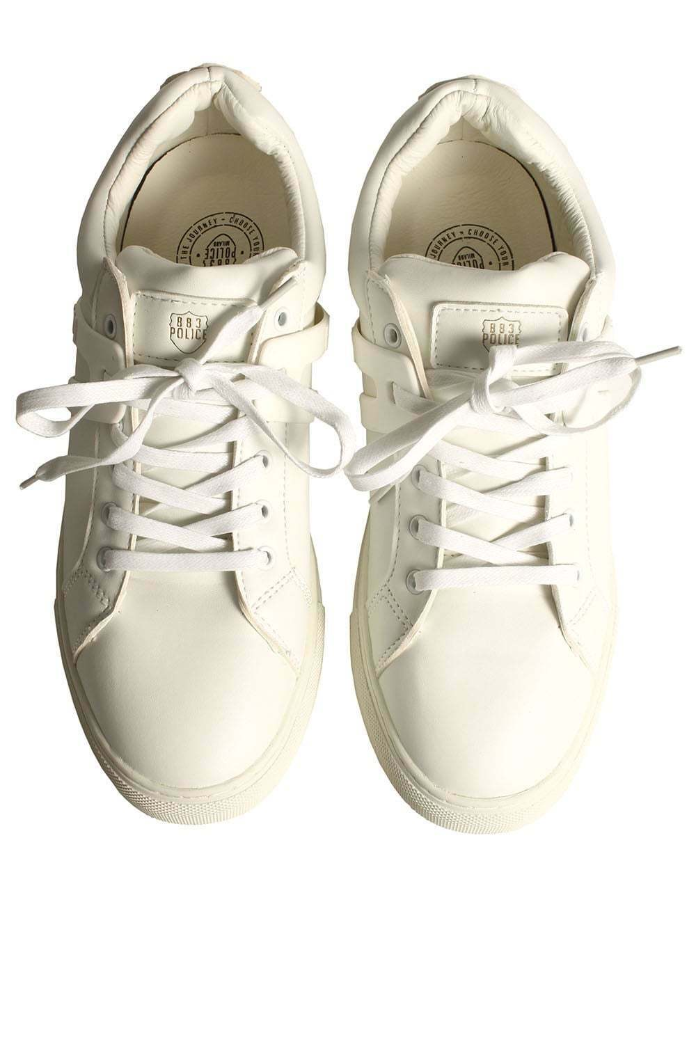 Mens Trainers 883 POLICE Bill Trainers White