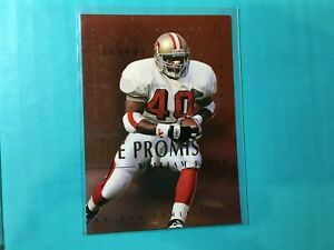 WILLIAM-FLOYD-1995-SKYBOX-THE-PROMISE-INSERT-CARD-5-49ers
