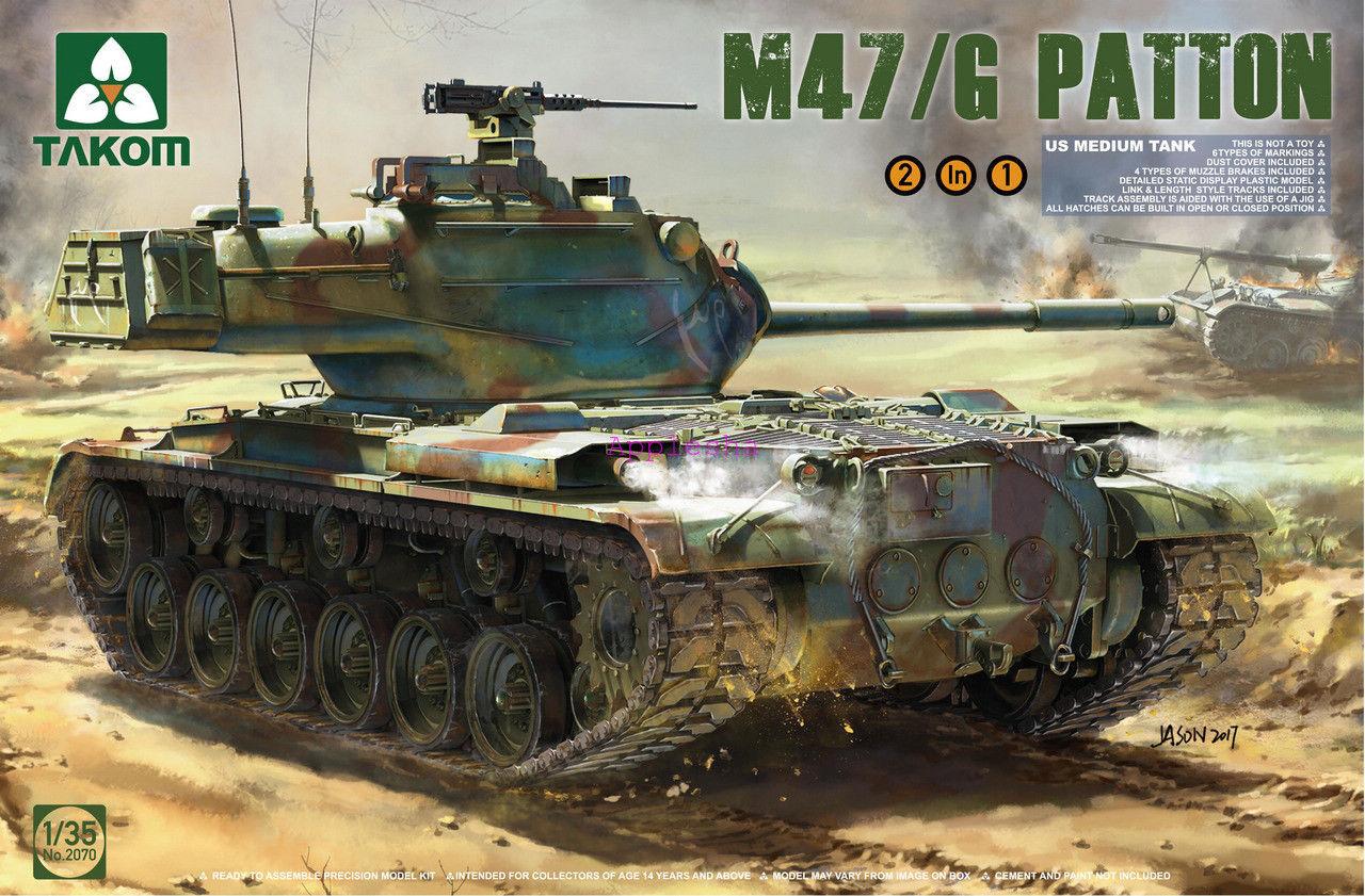 Takom 2070 1 35 M47 G Patton